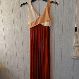EUC Maeve Anthropologiesummer maxi dress sz xxs